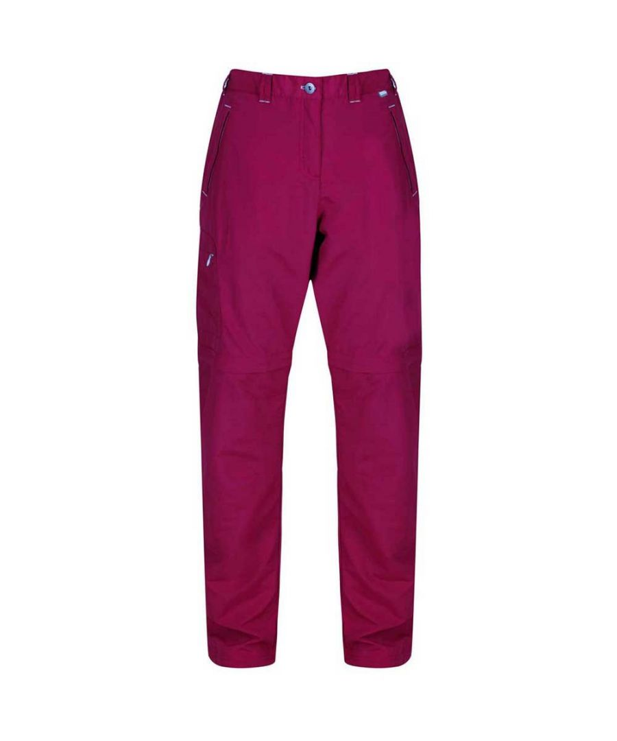 Image for Regatta Womens/Ladies Chaska Zip Off Trousers