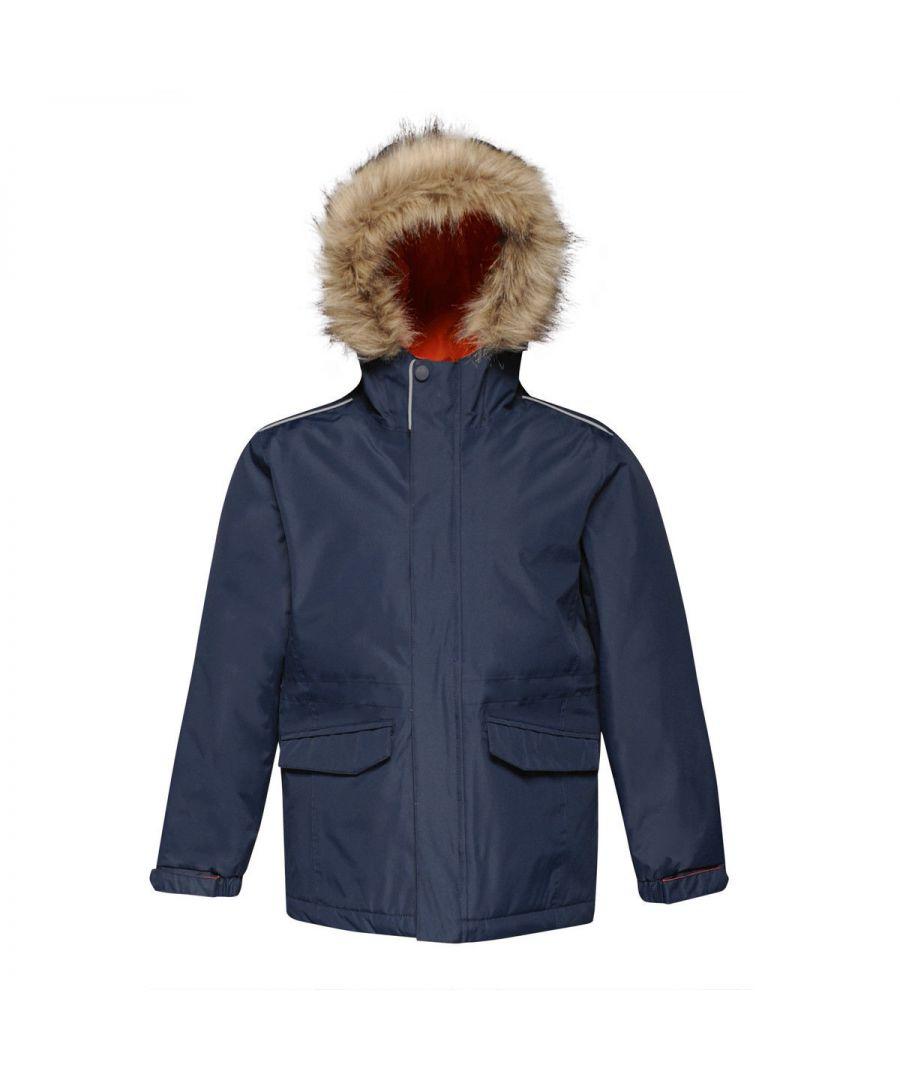 Image for Regatta Childrens Cadet Parka Jacket