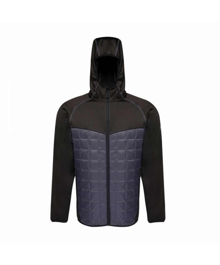Image for Regatta Mens Modular Thermal Stretch Hybrid Jacket