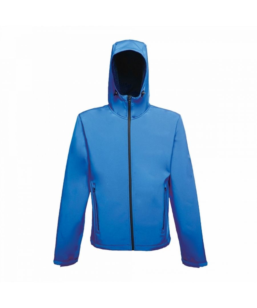 Image for Regatta Mens Arley II Hooded Softshell Jacket