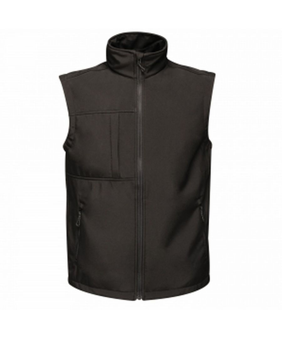 Image for Regatta Mens Octagon 3 Layer Printable Softshell Bodywarmer