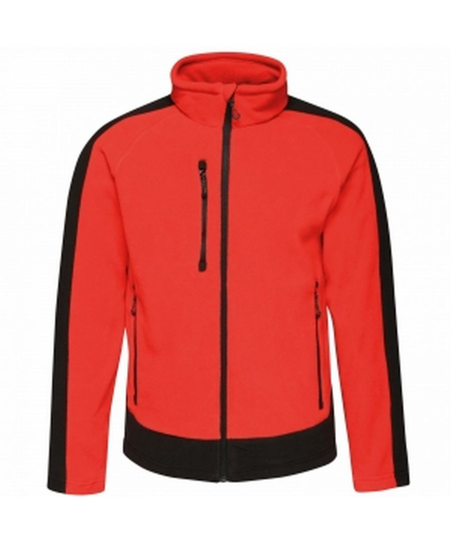 Image for Regatta Mens Contrast Fleece Jacket