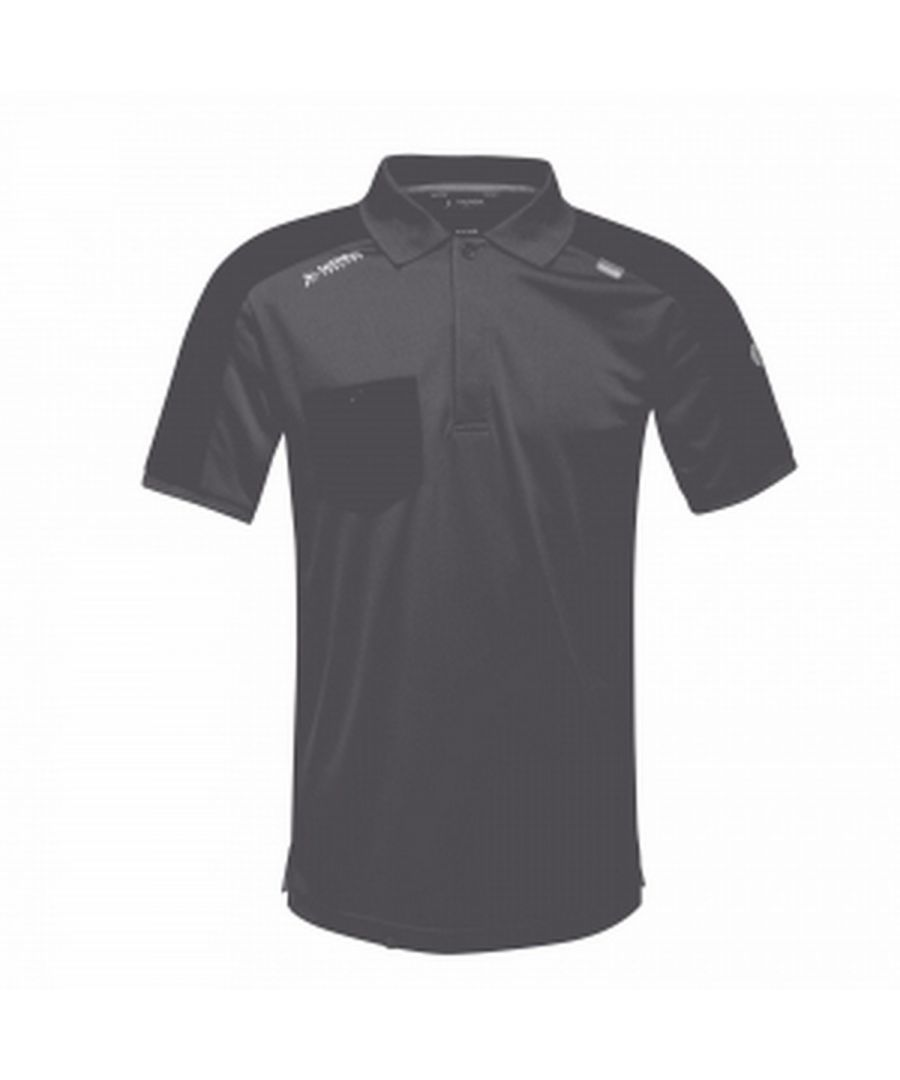 Image for Regatta Mens Offensive Wicking Polo Shirt