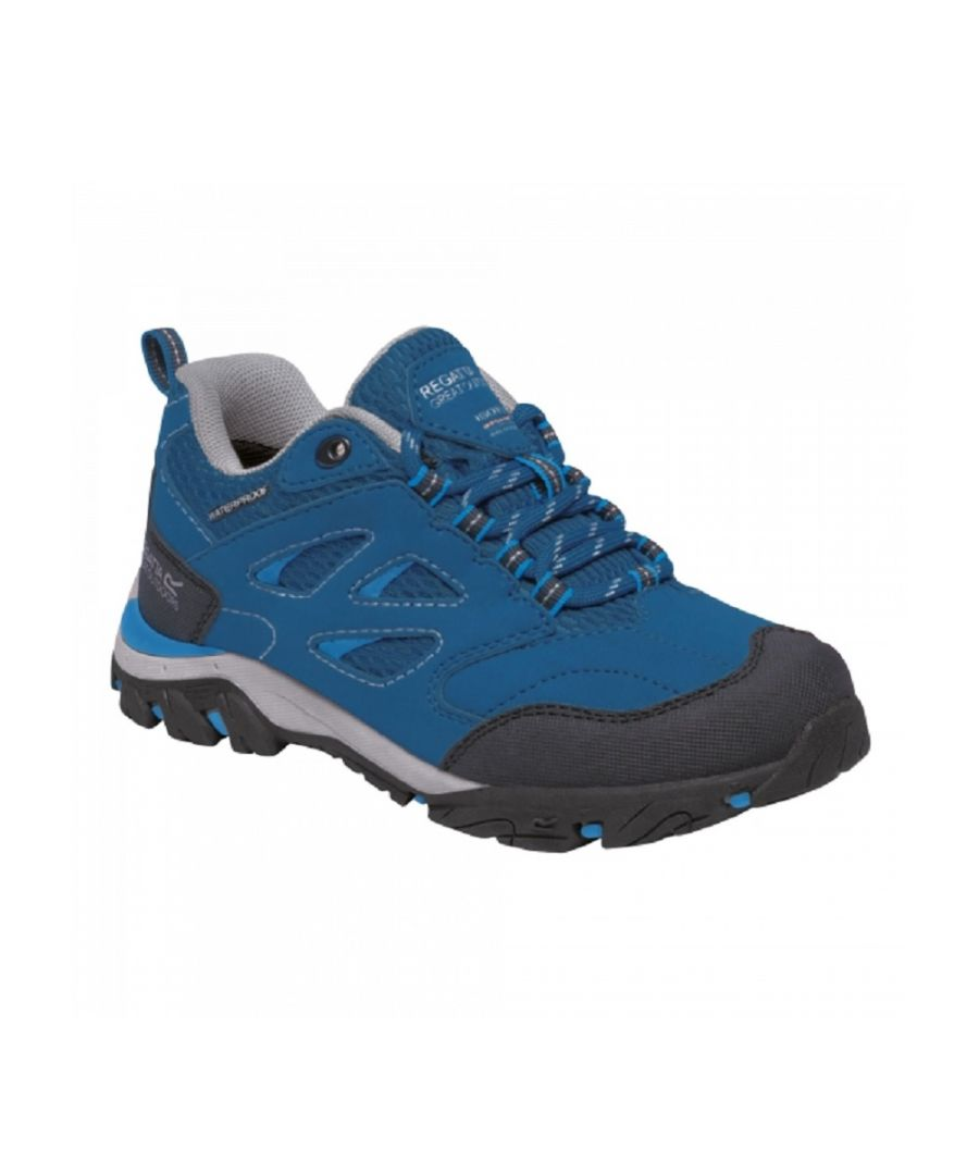 Image for Regatta Childrens/Kids Holcombe Low Junior Hiking Boots