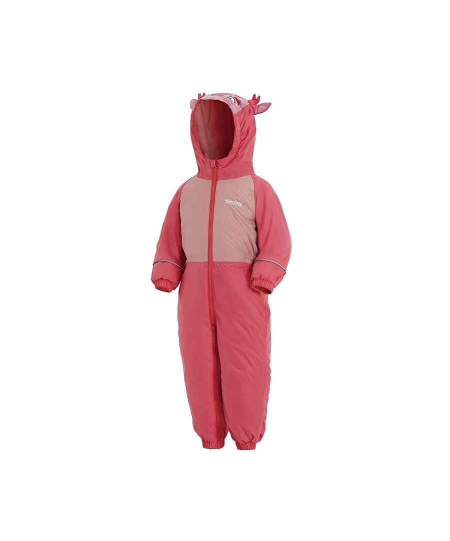 Image for Regatta Childrens/Kids Mudplay III Hooded Rainsuit
