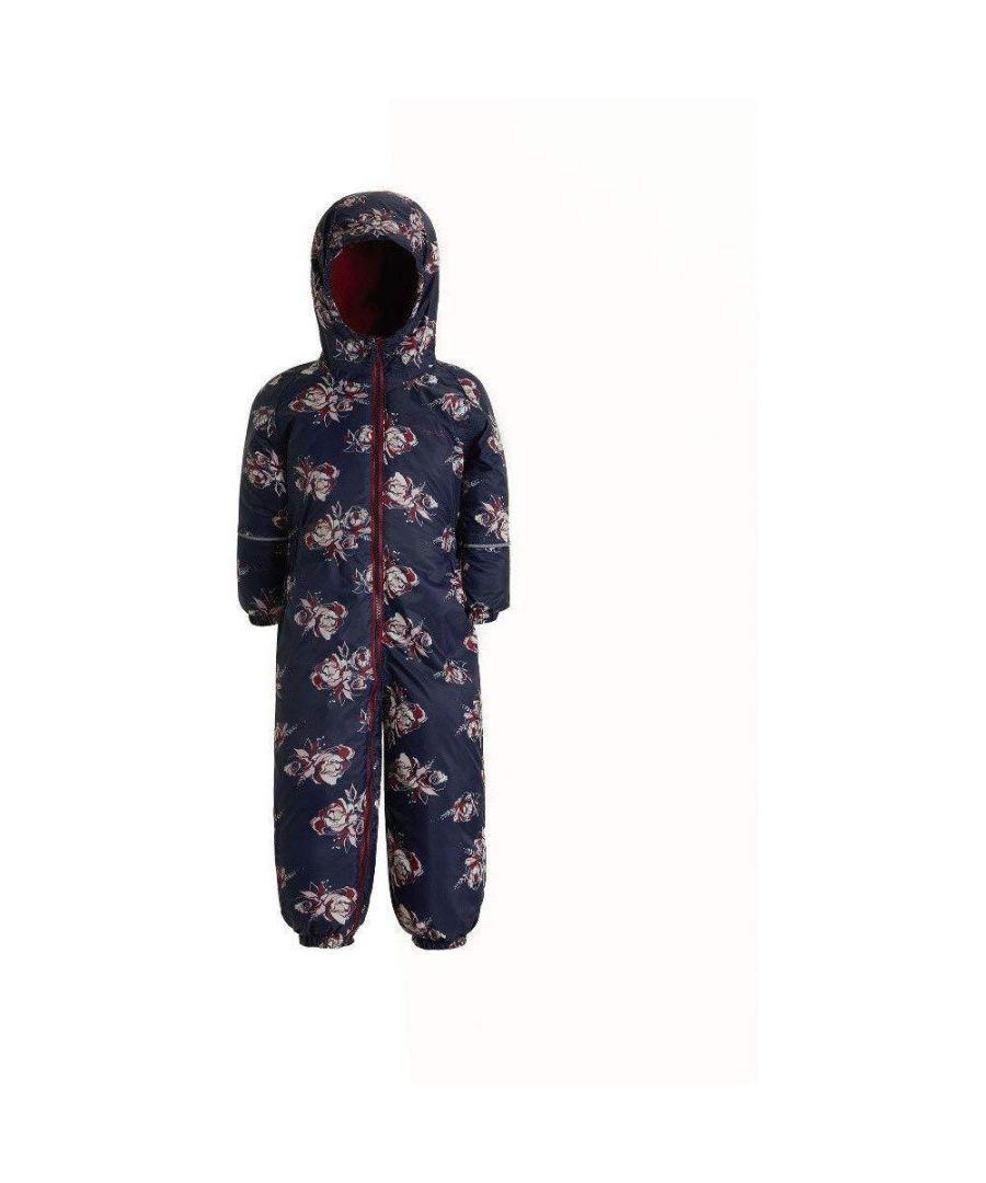 Image for Regatta Childrens/Kids Printed Splat II Hooded Rainsuit