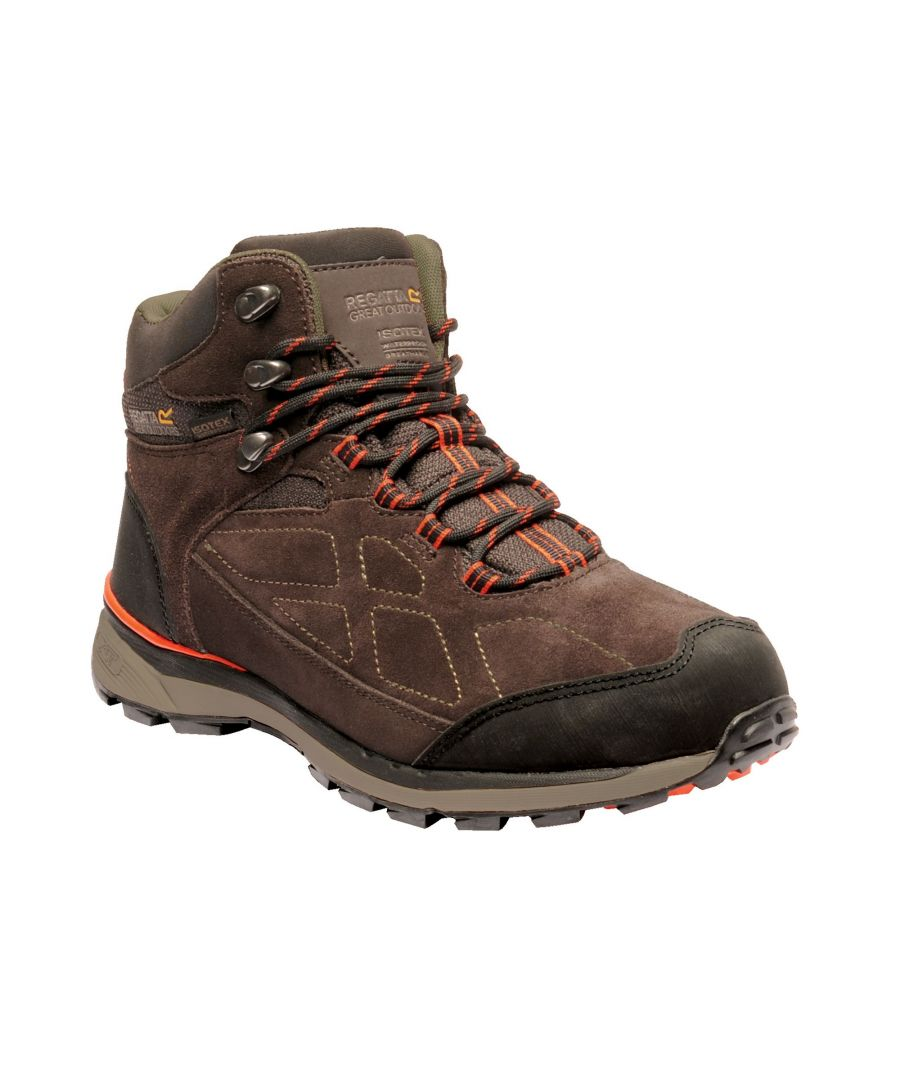 Image for Regatta Mens Samaris Suede Hiking Boots