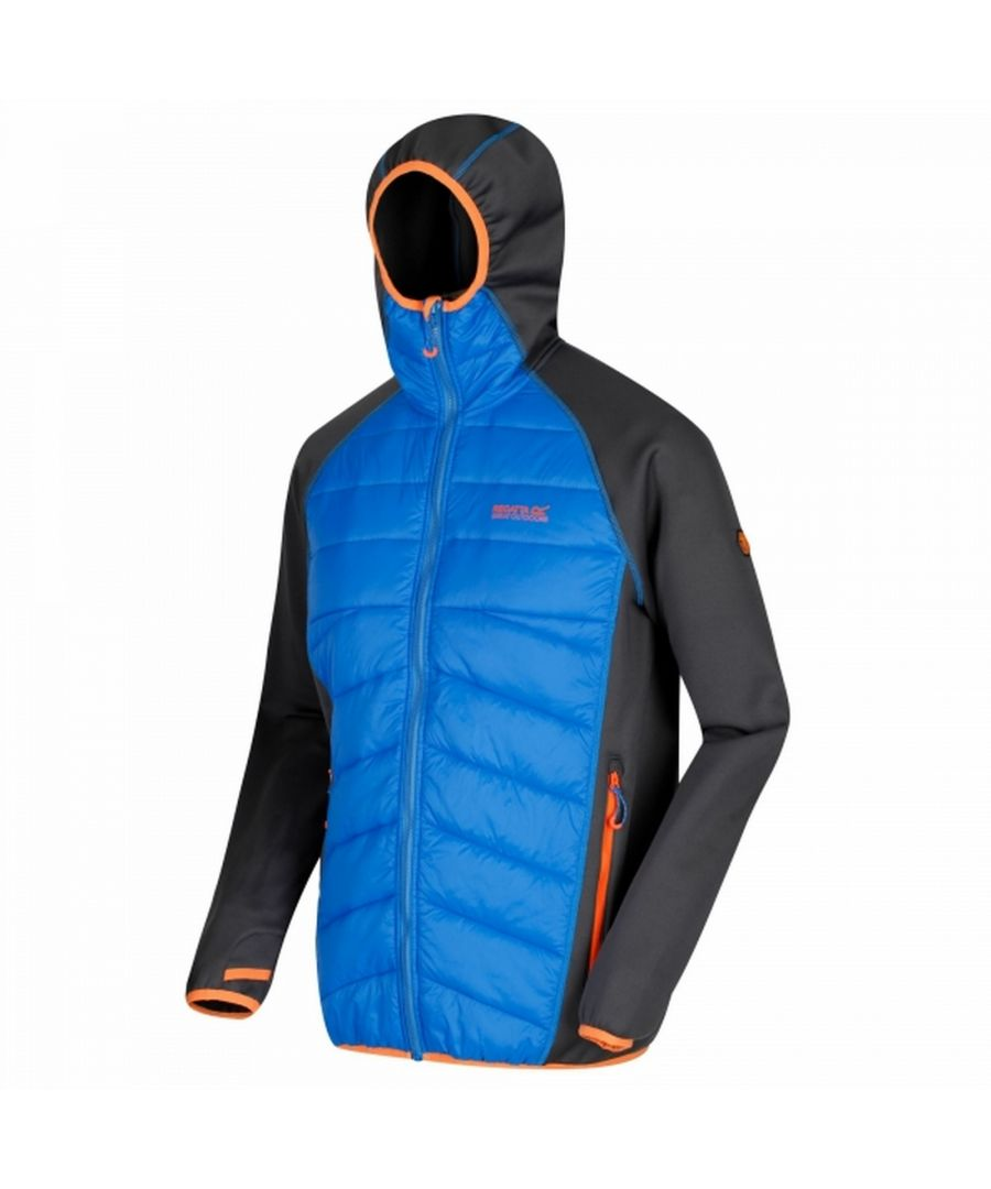 Image for Regatta Mens Andreson III Hybrid Hooded Jacket