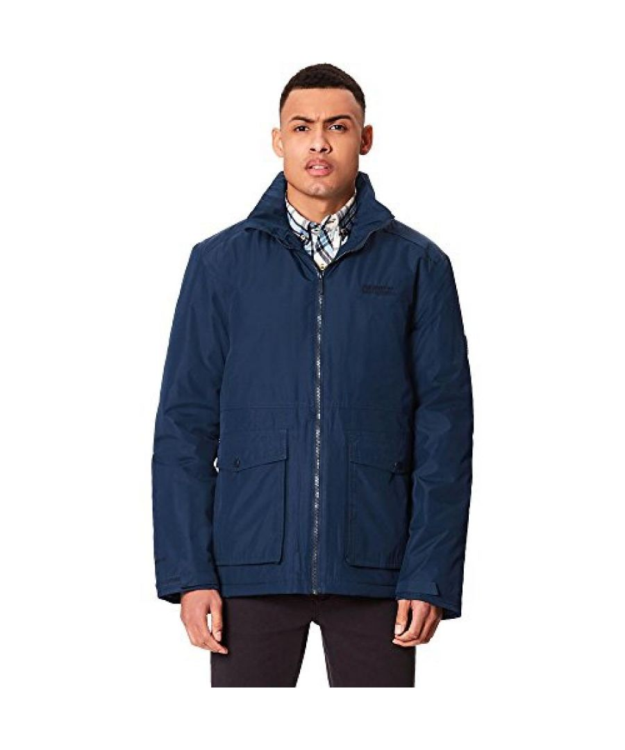 Image for Regatta Mens Hebson Hooded Jacket