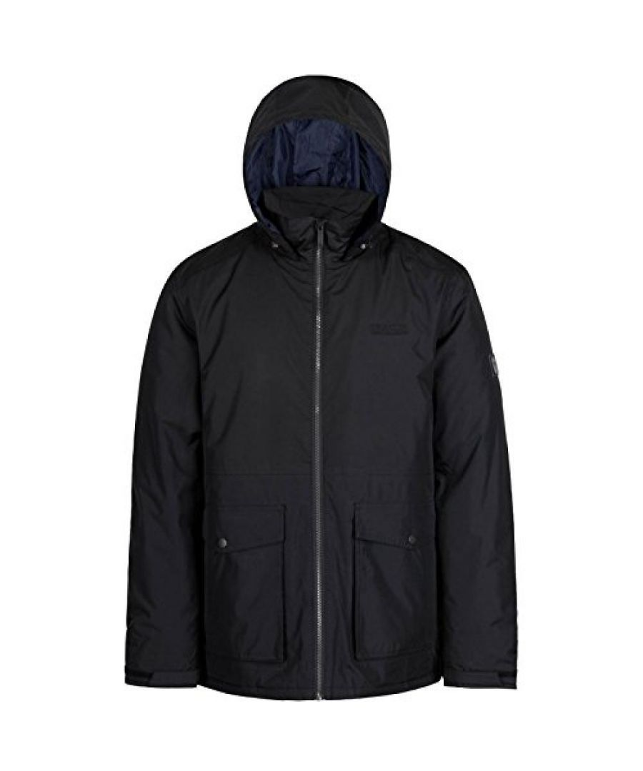 Image for Regatta Mens Hebson Hooded Jacket