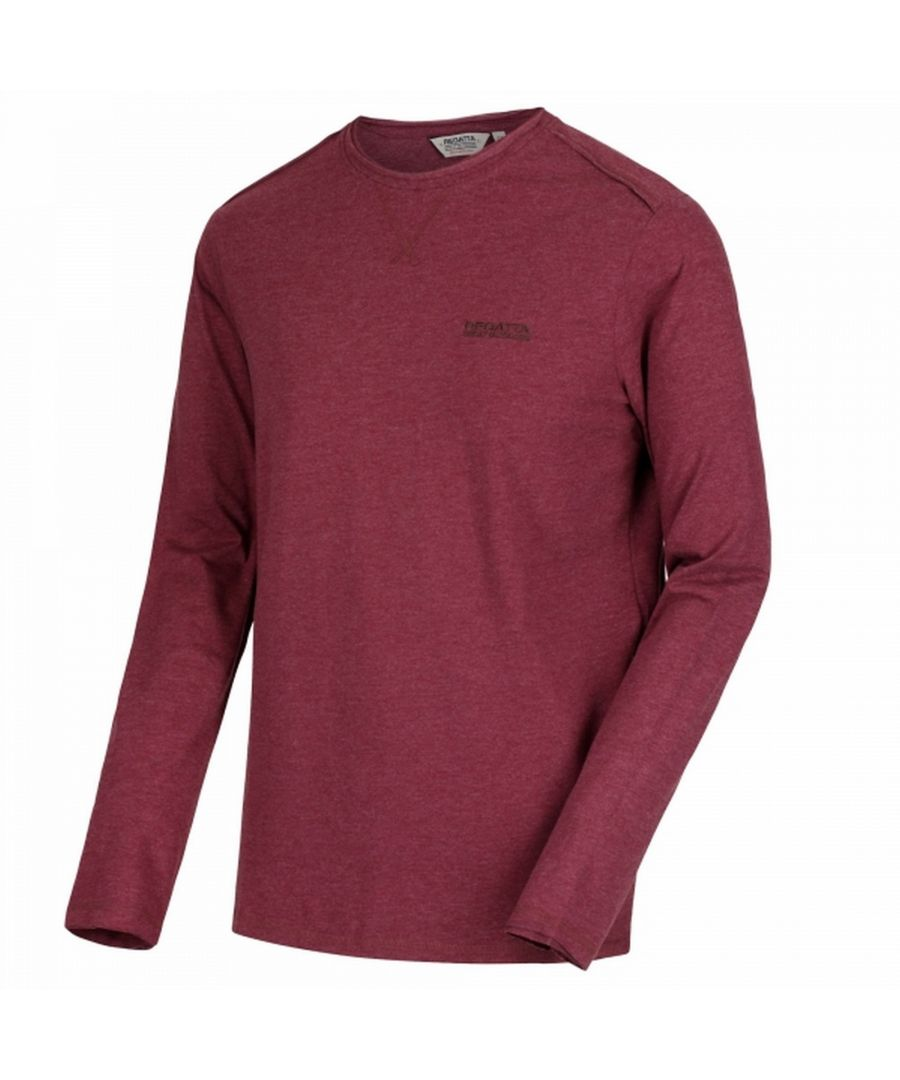 Image for Regatta Mens Karter Long Sleeved T-Shirt