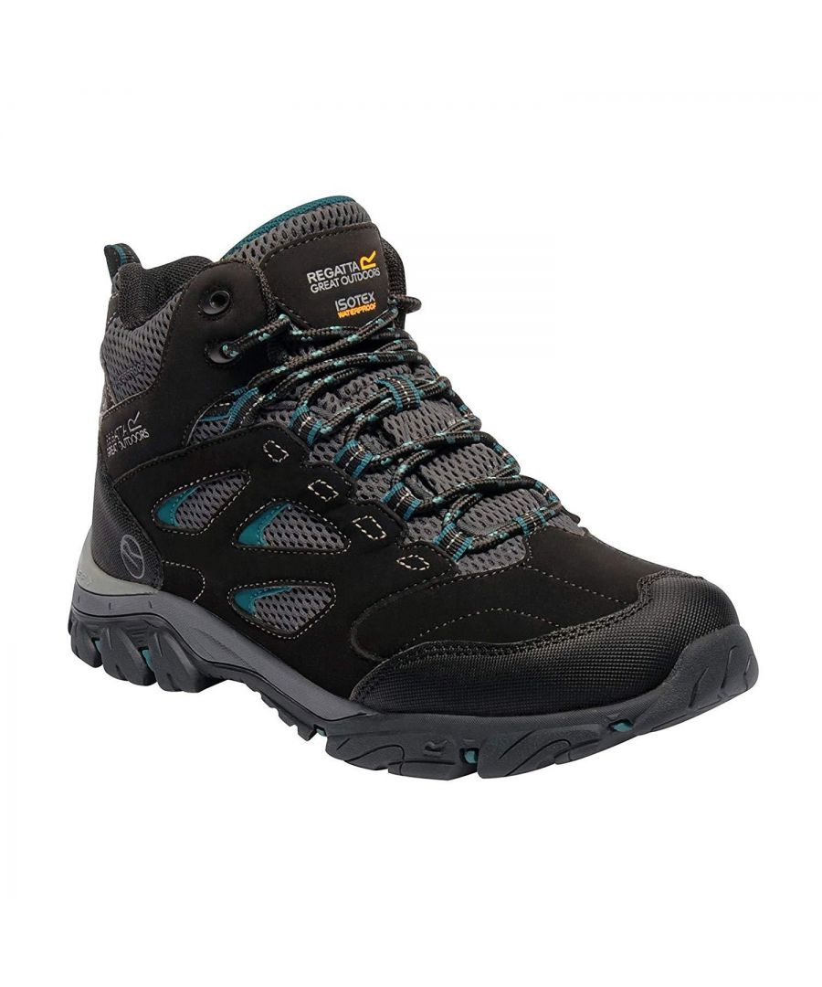 Image for Regatta Womens/Ladies Holcombe IEP Mid Hiking Boots