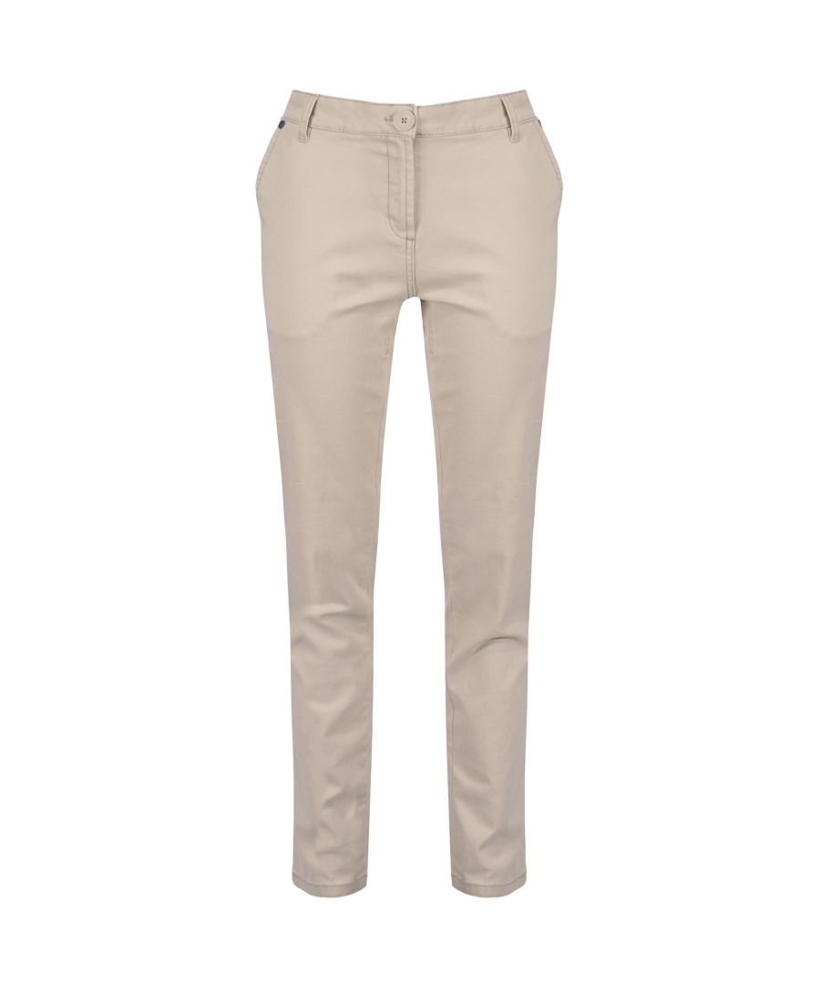 Image for Regatta Womens/Ladies Querina Chino Trousers