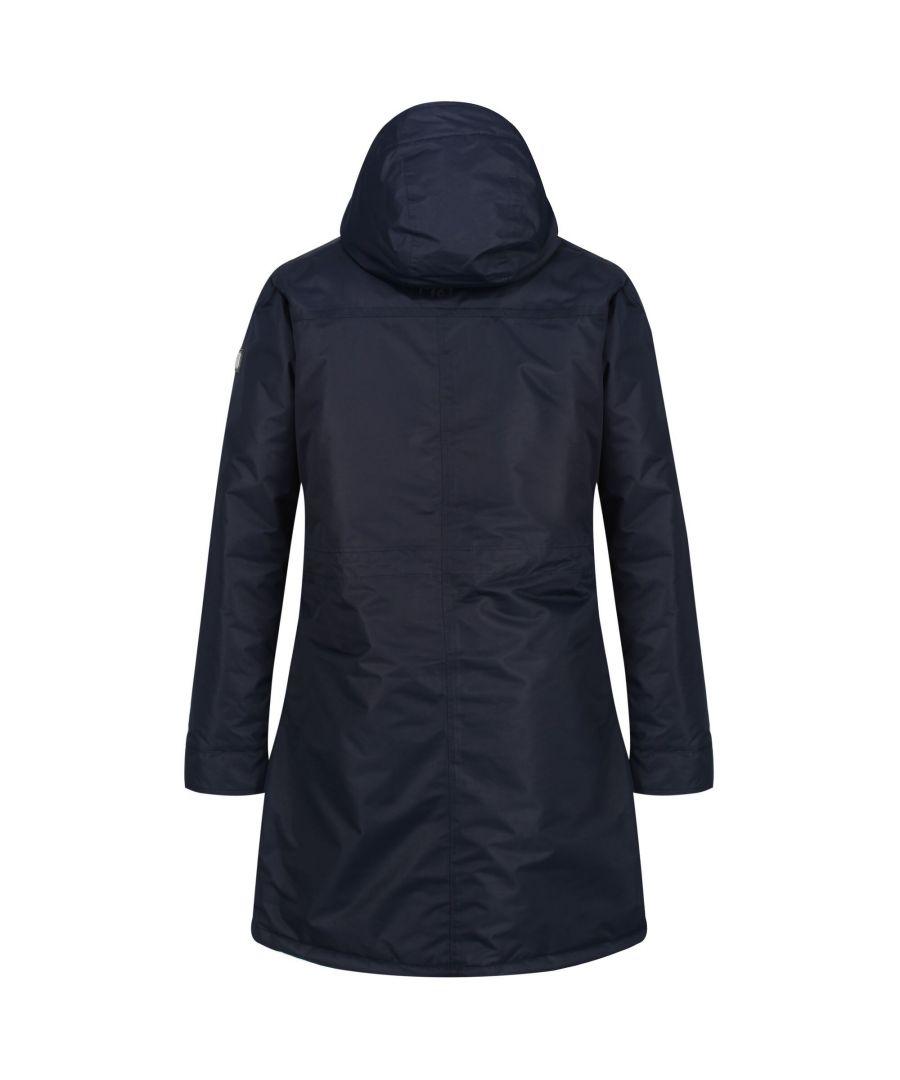 Image for Regatta Womens/Ladies Romina Full Length Hooded Jacket