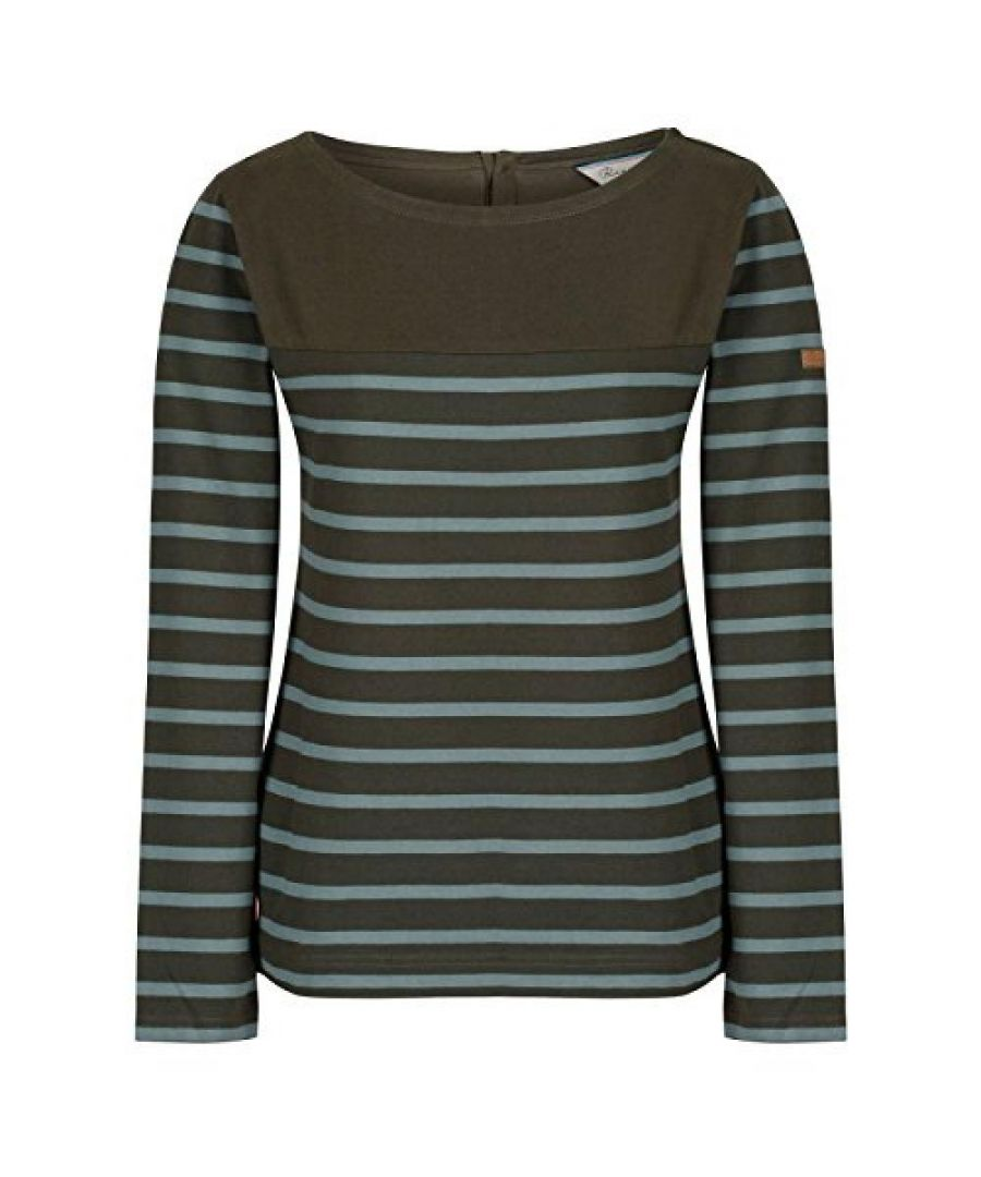 Image for Regatta Womens/Ladies Faizah Long Sleeved T-Shirt