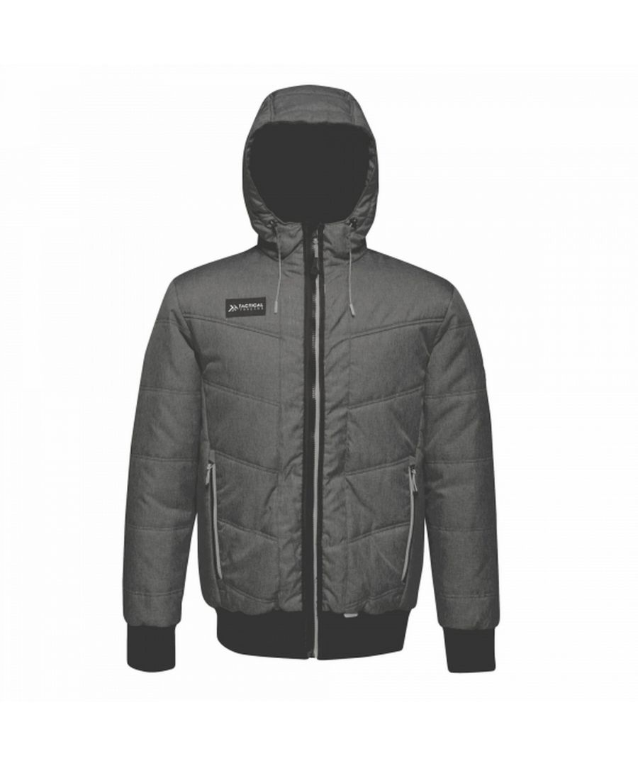 Image for Regatta Mens Thrust Insulated Hooded Jacket
