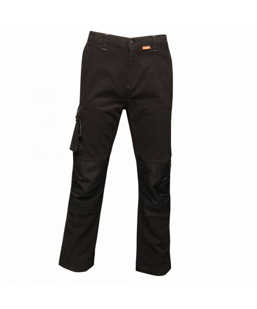 Image for Regatta Mens Scandal Stretch Work Trousers - Regular