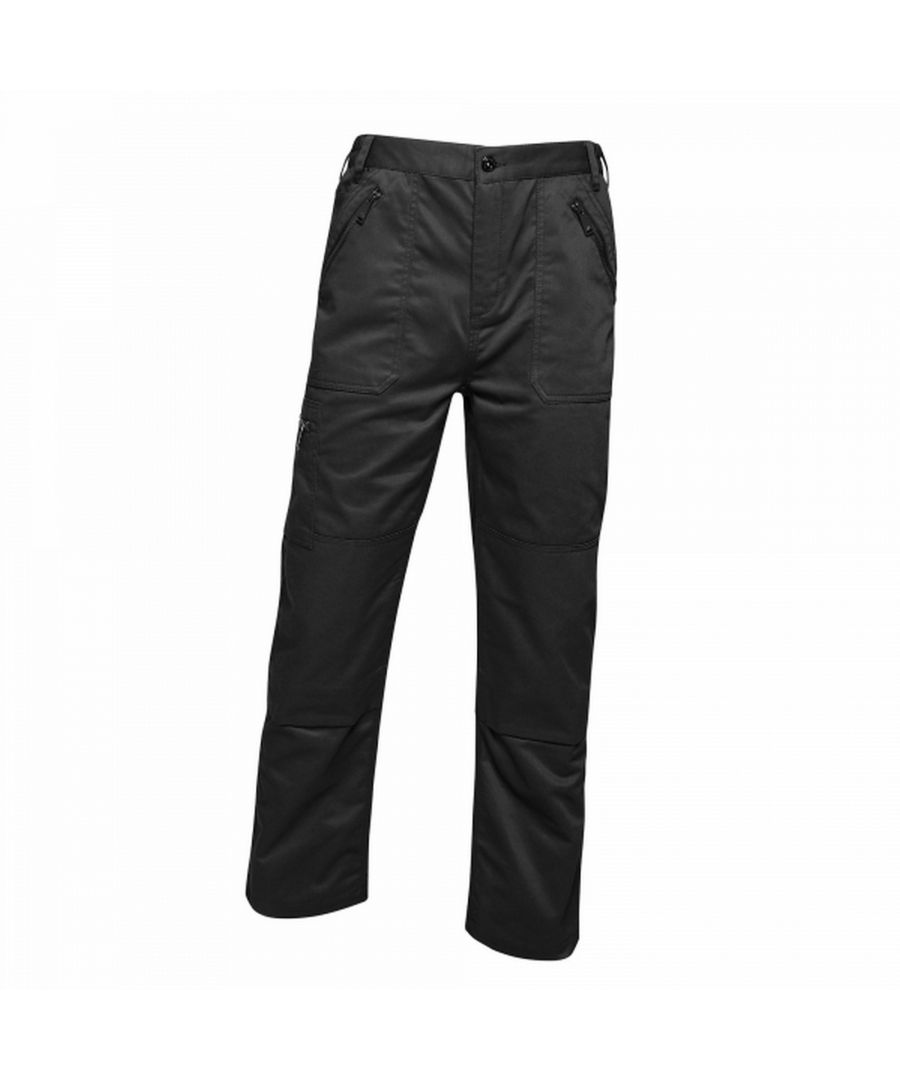 Image for Regatta Mens Pro Action Waterproof Trousers - Long (34in)