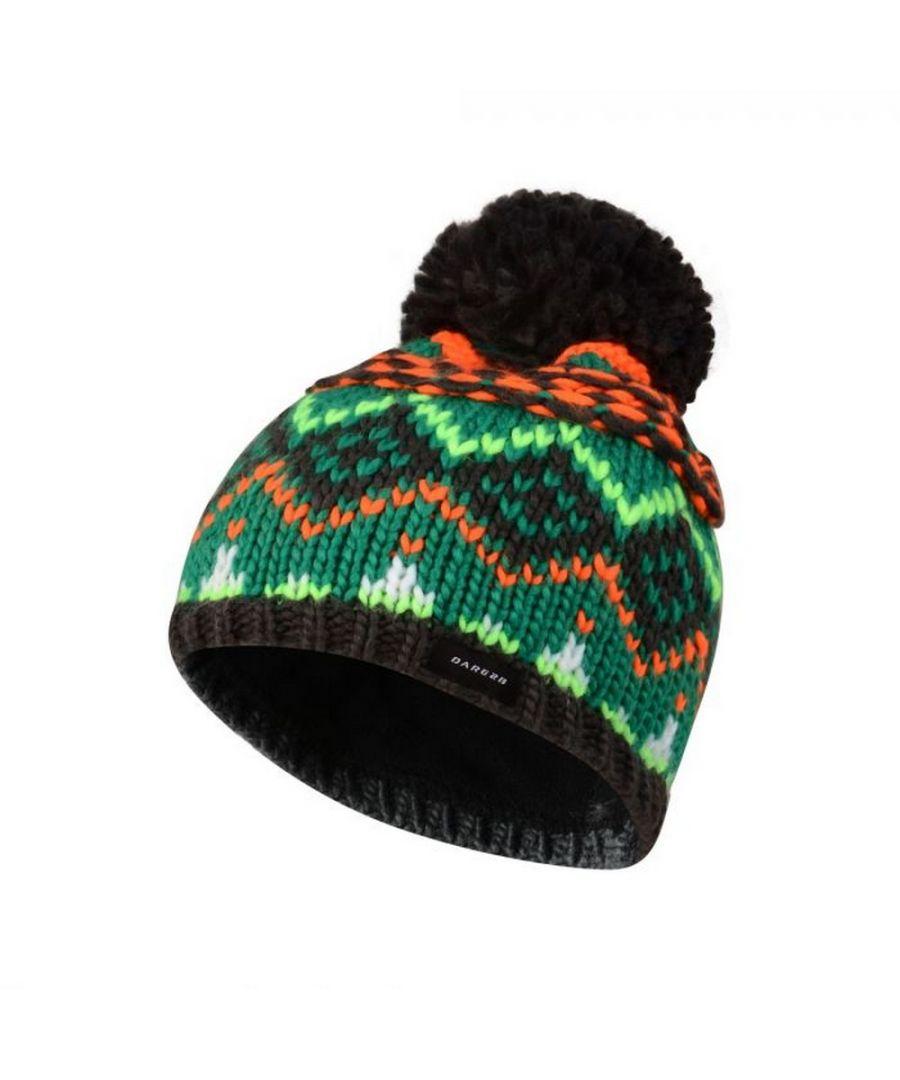 Image for Dare 2B Kids Badges Beanie Hat (Ebony Grey)