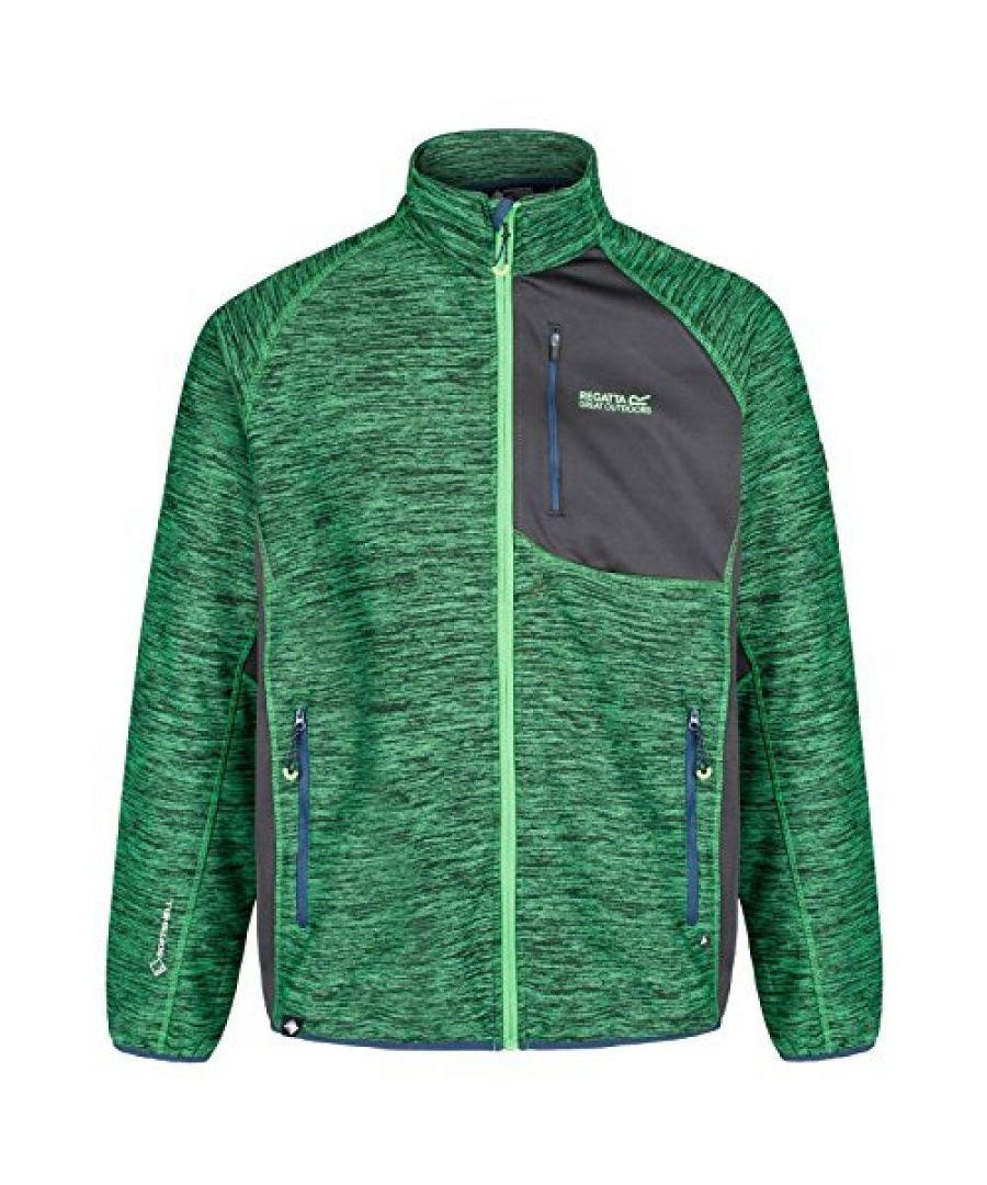 Image for Regatta Great Outdoors Mens Farway III Wind Resist Softshell Jacket
