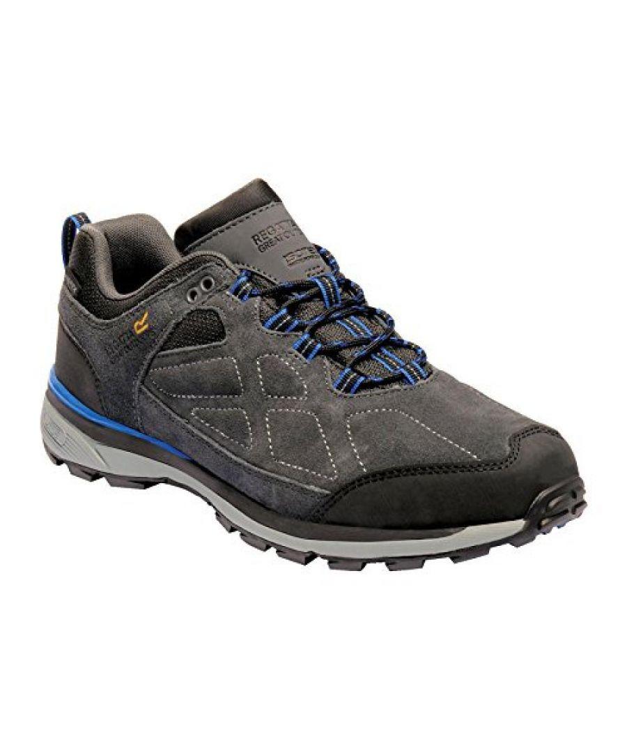 Image for Regatta Mens Samaris Low Suede Walking Shoes