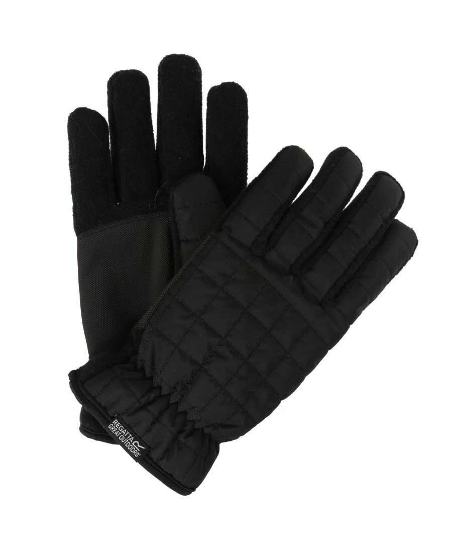 Image for Regatta Mens Quilted Winter Gloves