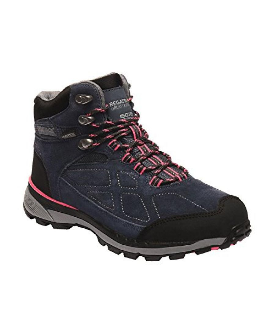 Image for Regatta Womens/Ladies Samaris Suede Walking Boots
