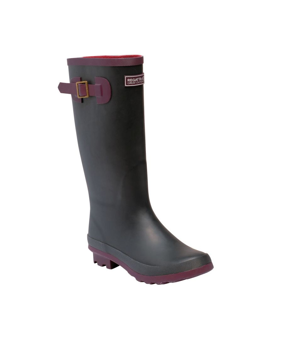Image for Regatta Womens/Ladies Ly Fairweather II Tall Durable Wellington Boots