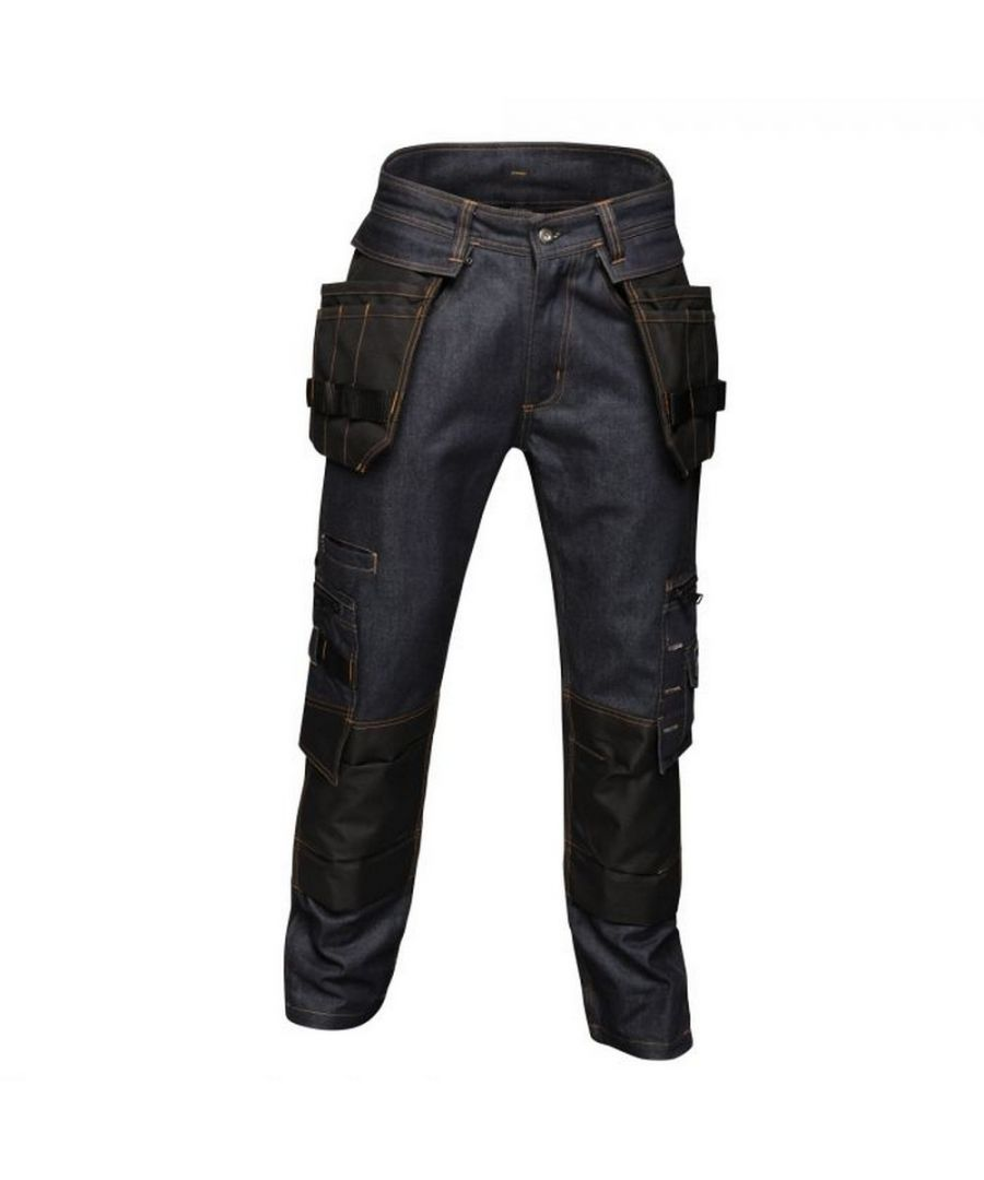 Image for Regatta Mens Deductive Denim Trousers