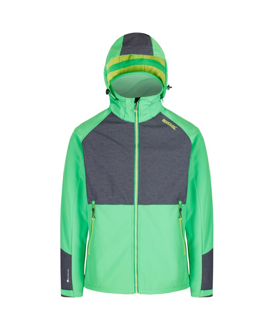 Image for Regatta Mens Hewitts IV Technical Water Repellent Softshell Jacket