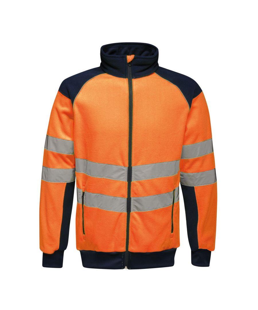 Image for Regatta Mens Hi Vis Pro Fleece
