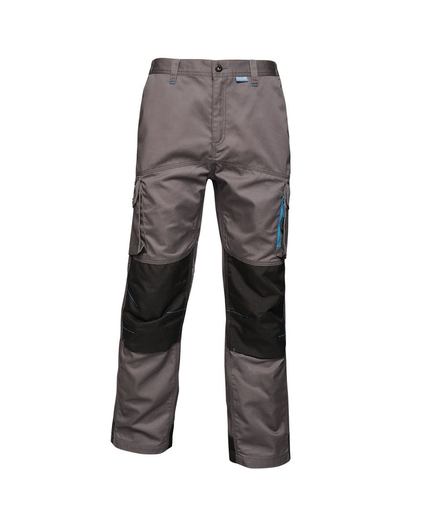 Image for Regatta Mens Tactical Threads Heroic Worker Trousers (Iron)
