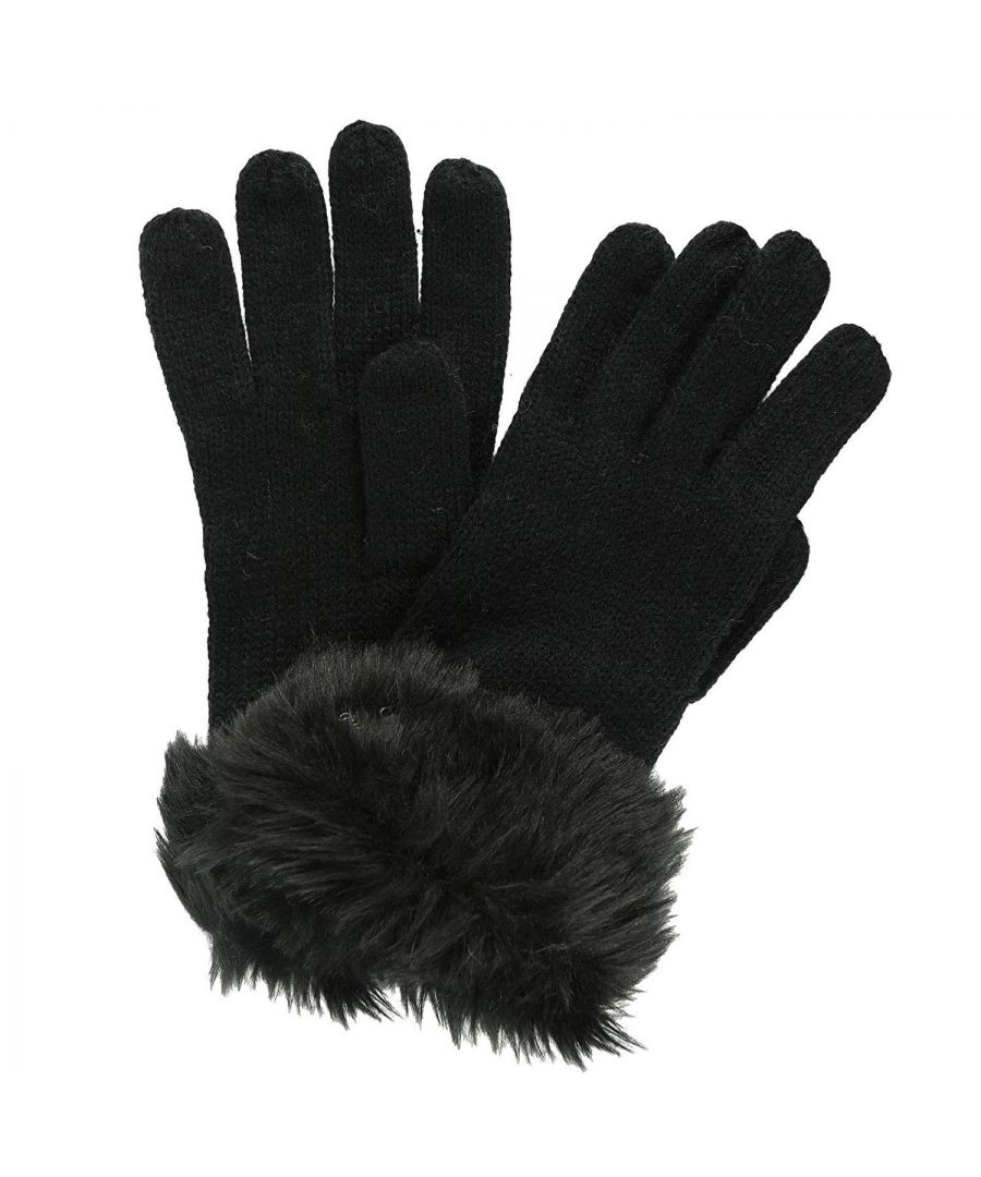 Image for Regatta Great Outdoors Womens/Ladies Luz Jersey Knit Gloves