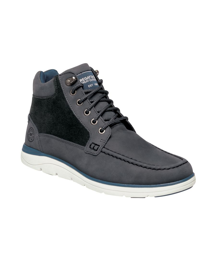 Image for Regatta Mens Denshaw Leather Boots