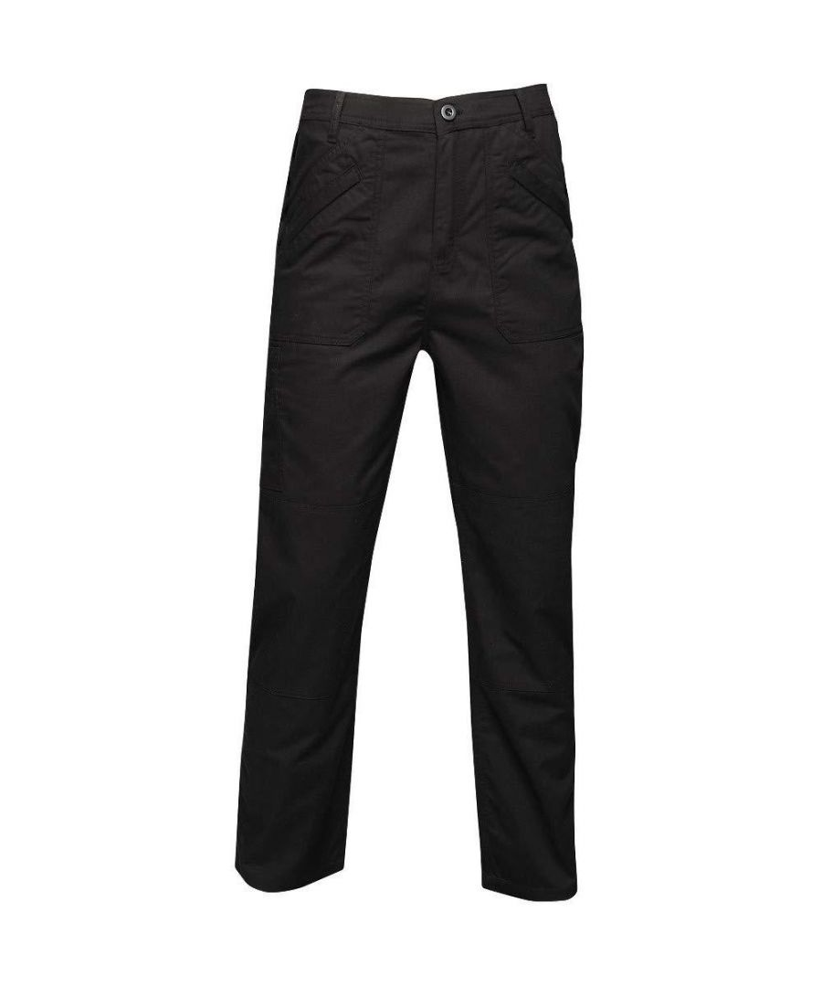 Image for Regatta Mens Orignal Action Water Repellent Work Trousers