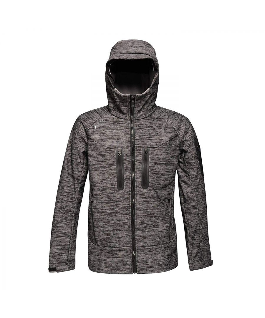Image for Regatta Mens Artful 3 Layer Waterproof Jacket