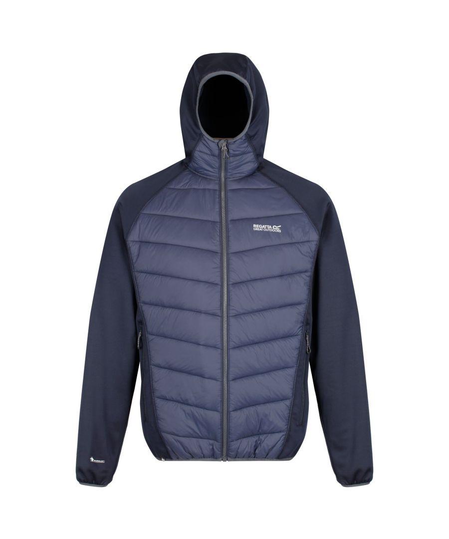 Image for Regatta Mens Andreson IV Lightweight Insulated Hybrid Jacket