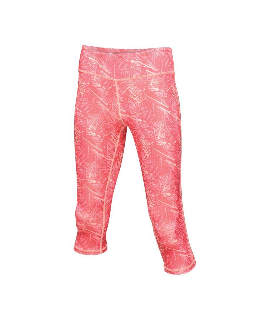 Image for Regatta Womens/Ladies Pincha 3/4 Leggings