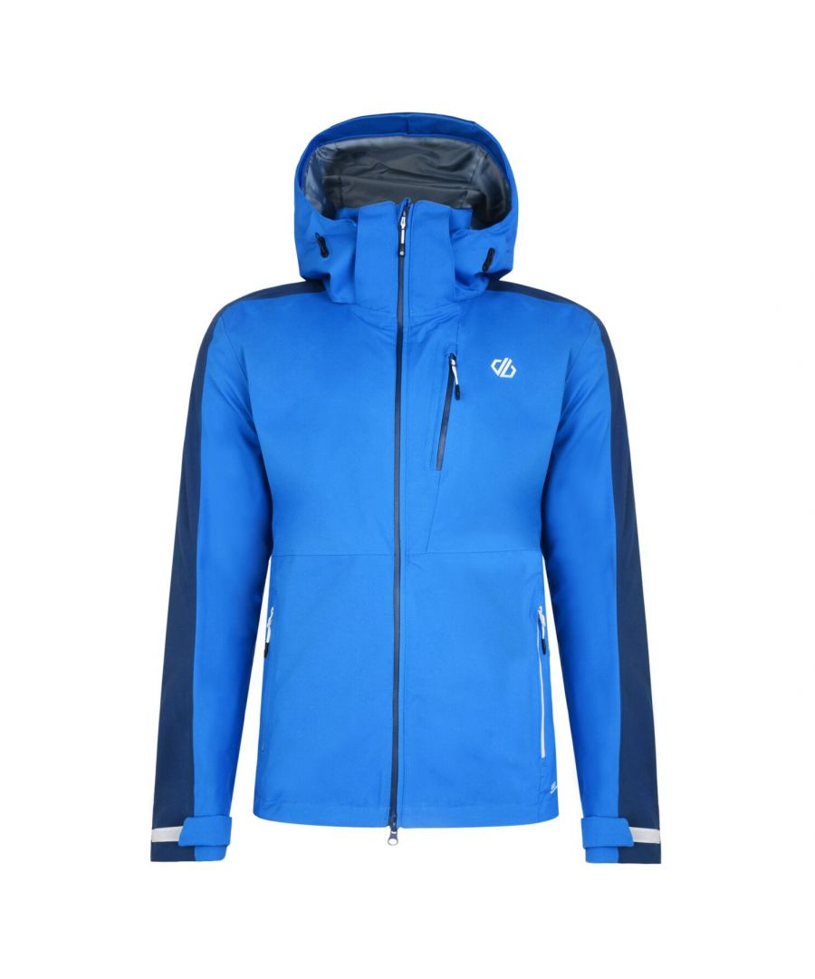 Image for Dare 2B Mens Diluent Lightweight Waterproof Jacket With Detachable Hood