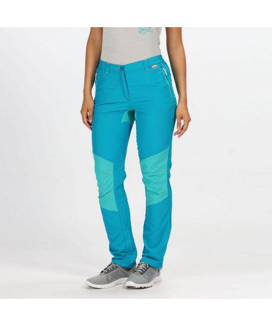Image for Regatta Womens/Ladies Sungari II Lightweight Stretch Walking Trousers