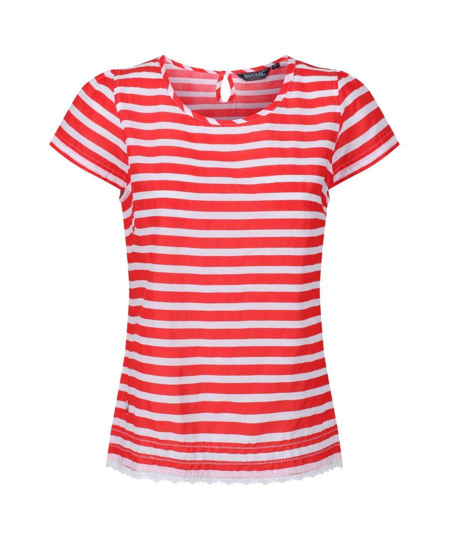 Image for Regatta Womens/Ladies Jakayla Coolweave Short Sleeve Shirt