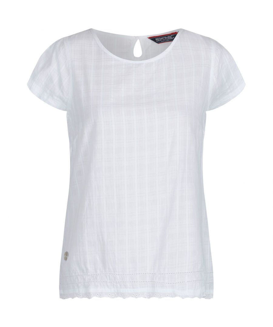 Image for Regatta Womens/Ladies Jakayla Coolweave Short Sleeve Shirt