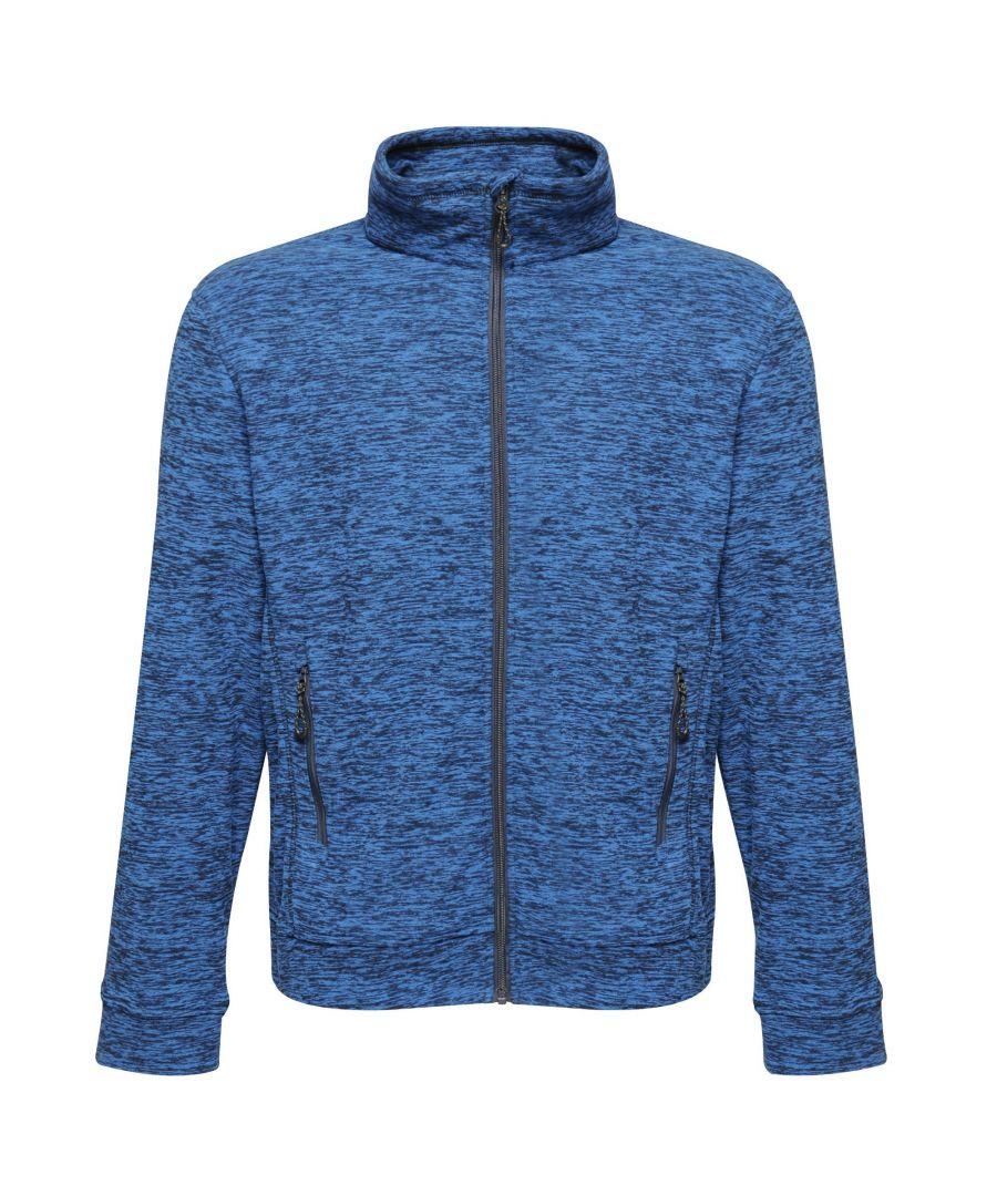 Image for Regatta Mens Thornly Full Zip Fleece