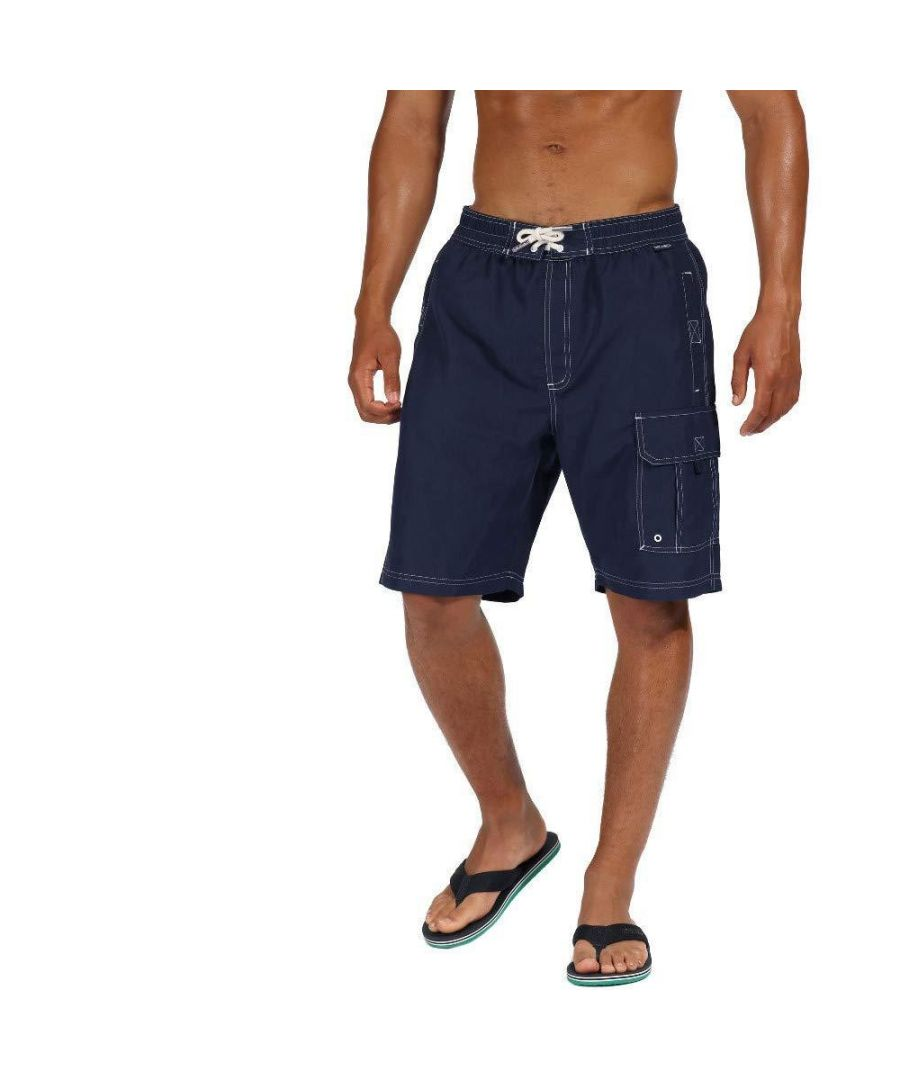 Image for Regatta Mens Hotham III Mesh Quick Drying Board Shorts