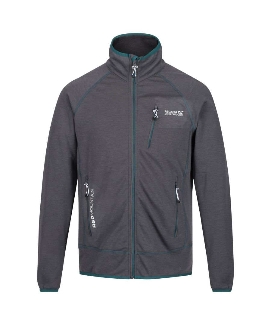 Image for Regatta Mens Harva Full Zip Jacket
