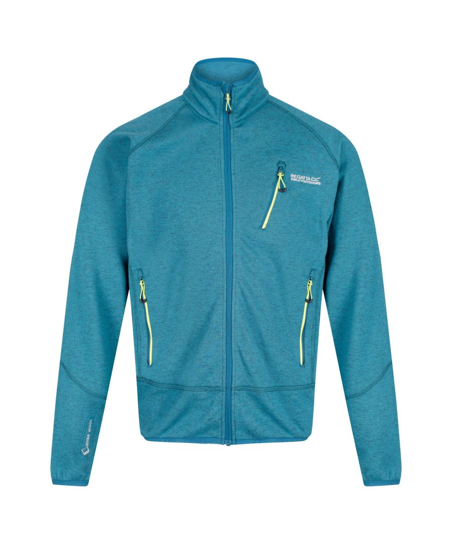 Image for Regatta Mens Harva Full Zip Jacket
