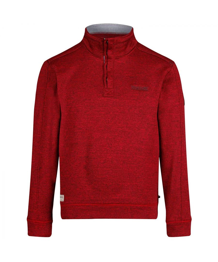Image for Regatta Mens Lardner Buttoned Fleece