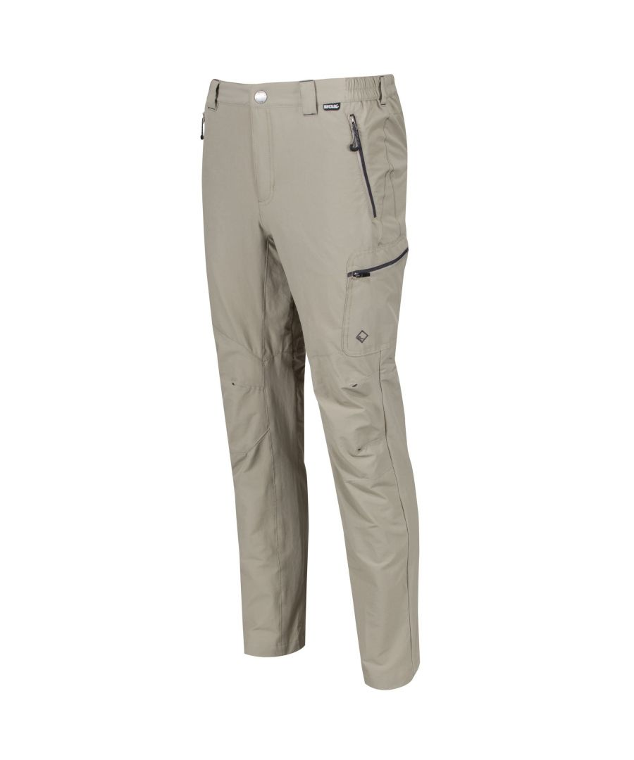 Image for Regatta Mens Highton Water Repellent Hiking Trousers