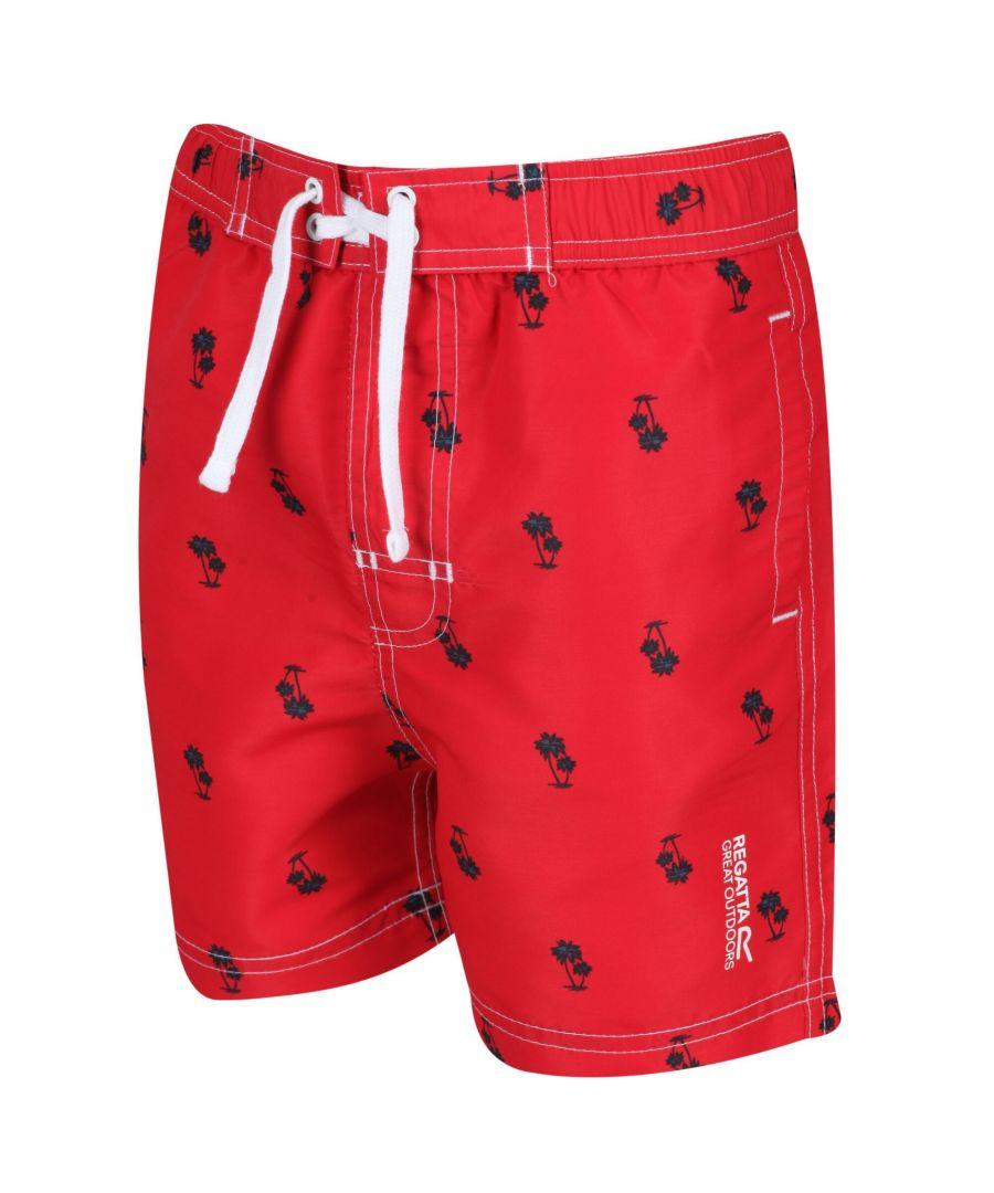 Image for Regatta Kids Skander II Quick Drying Swim Shorts