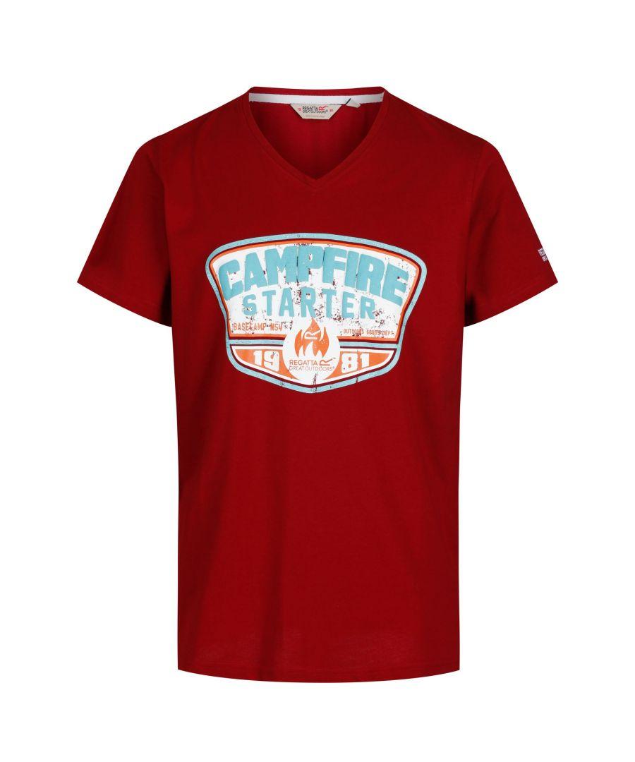 Image for Regatta Mens Calton T-Shirt